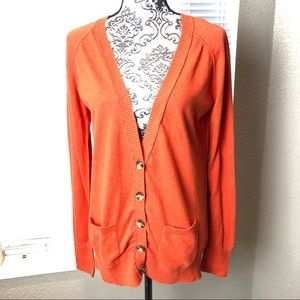Mossimo Button Down V-Neck Cardigan